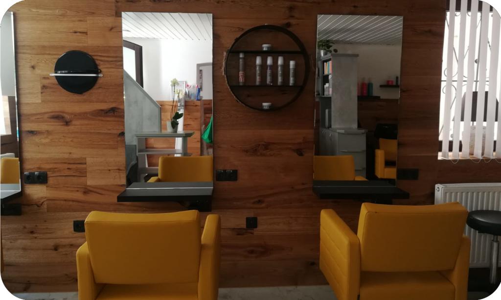 Friseursalon von Innen